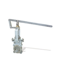 Lever Operated Knife Gate Valve - 316SS Metal Seated