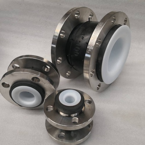 PTFE Lined Rubber Expansion Joint FSF with Table E or ANSI 150LB Zinc flanges