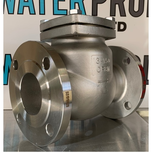 Stainless Steel Swing Check Valve - Flanged ANSI 150LB