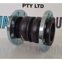 Twin Sphere Rubber Expansion Joint FTF